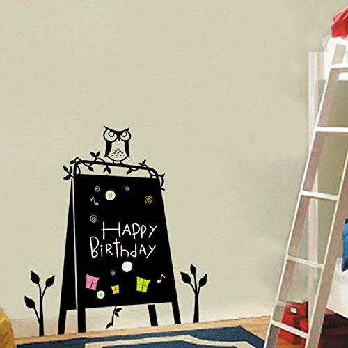 yanqiao-cartoon-owl-blackboard-chalkboard-label-wall-stickers-for-kidsroom-personality-decoration-vi