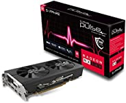 Sapphire 11265-05-20G Radeon Pulse RX 580 8GB GDDR5 Dual HDMI / PCI/ Dual DP OC مع لوحة خلفية (UEFI) بطاقات جر