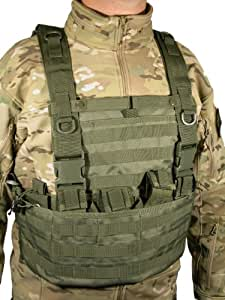 Swiss Arms Vest tactique système Molle OD Green