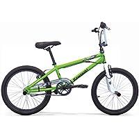"""Kawasaki Bicicletta BMX KRAFFITI 20"""" Bambino, Verde"""