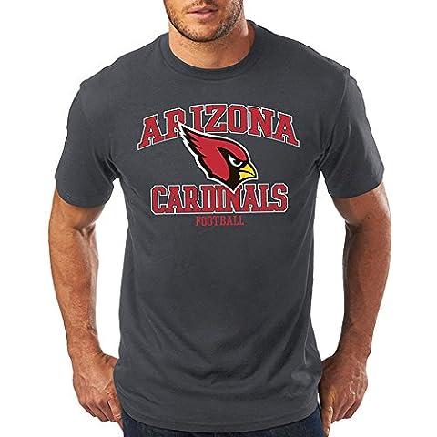 Majestic NFL TRESER Shirt - Arizona Cardinals charcoal -