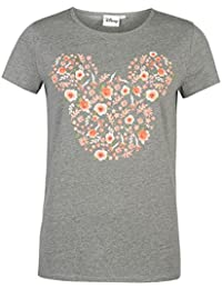 Ladies Branded Character Graphic Print Casual Short Sleeve T Shirt Top