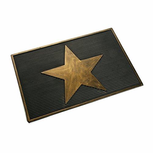 Versa 16980224 Felpudo de goma Estrella