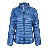 camel active Womenswear Damen Jacke Leichtstepp, Blau (Ocean Blue 45), 40