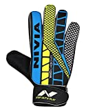 #1: Nivia Carbonite Web Goalkeeper Gloves (Multi Color) by RPM Sports