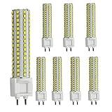 AscenLite LED G12 Birne 15W Mais Licht AC85-265V 360 Grad 1500 Lumen Warm Weiß 100-150W Halogen Ersatz, 8 Stücke