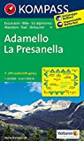 Adamello - La Presanella: Wanderkarte mit Radrouten und alpinen Skirouten. GPS-genau. 1:50000. (KOMPASS-Wanderkarten, Band 71)
