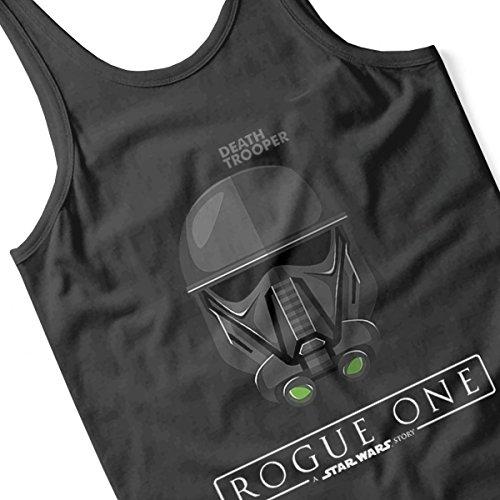 Star Wars Death Trooper Rogue One Women's Vest Black