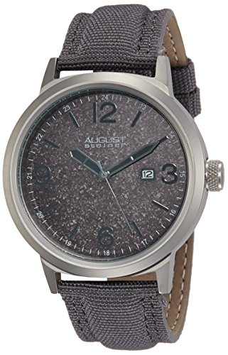 510IGE9HzsL - August Steiner Mens AS8088GY watch