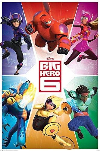 Empire Interactive Poster, Motiv: Big Hero 6Team 20 Tesa Powerstrips