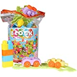Planet of Toys Toddler 96 Pieces Building Blocks Set for Kids/Children