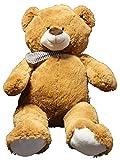 Fachhandel Plus XL Teddybär Plüschbär Plüsch Plüschtier Bär Teddy Stoffbär Kuscheltier braun 92 cm