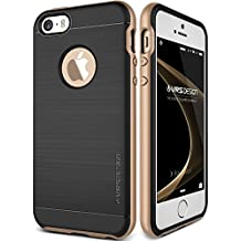 Funda iPhone SE, VRS Design [High Pro Shield][Oro] - [Shock- Absorción case][Resistente a los arañazos cover] - Para Apple iPhone 5/5S/SE