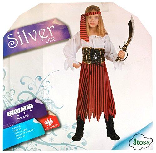 Jolly, Costume di carnevale Pirata -taglia 3