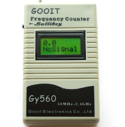 Pixtic Frequenzmessgerät 50MHz–2,4GHZ analoges/digitales Funkfrequenz