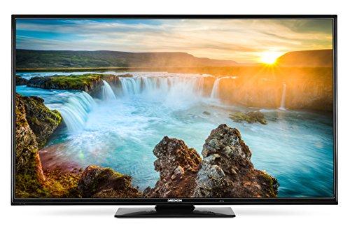 Medion Life X18122 MD 32111 139,7 cm (55 Zoll) Fernseher (Full HD, Triple Tuner, Smart-TV mit LED-Backlight, DVB-T2 HD) schwarz Sharp-tv-sound