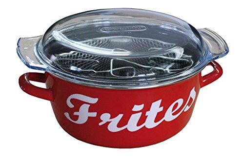 Baumalu 311138freidora Esmalte Escritura «Frites»