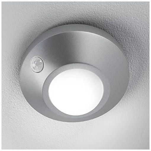 Osram Nightlux Ceiling 1.7 W, Argento, 8.6 x 8.6 x 4,7 cm
