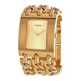 Guess Quartz Gold Dial Ladies Watch W1274L2