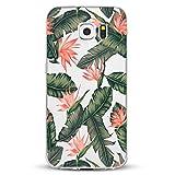 Teryei Samsung Galaxy S6 Hülle, Hybrid Flexible TPU Stoßfest Apple Case Dünn Kristall Klar Silikon Protective Back Cover für Samsung Galaxy S6 (5.1 Zoll) (Samsung Galaxy S6, 5)