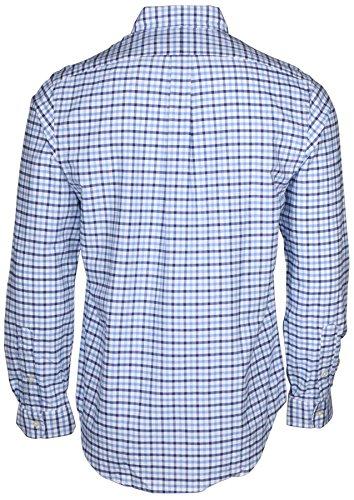 Ralph Lauren Uomo Camicia manica lunga Bianco-Celeste