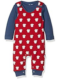 Kite Baby Boys' Cow Dungaree Clothing Set