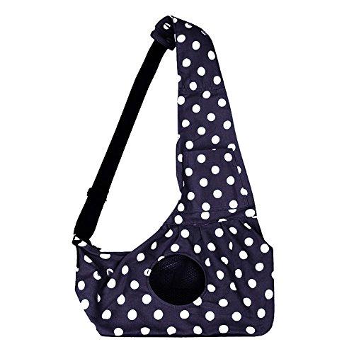 hifuture Haustier Single-Schulter Bag Sling Bag Haustier Hund Katze Tasche Rucksack für Hunde Hunderucksack Tasche Rucksäcke Hundetasche Tragetücher für kleine Hunde und Katzen