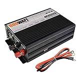 CAPTIANKN Automotive Power Inverter, 600W Pure Sine Wave Solar Converter, DC12V/24V/48V/44 Driving Power Supply,48vto220v