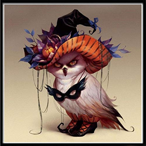 wensltd Ausverkauf. Halloween 5D Stickerei Gemälde Strass DIY eingefügt Diamant Malerei, Unisex, B, 7T