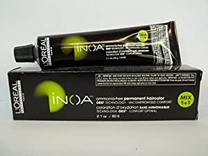 LOreal Professionnel INOA Ammonia Free Hair Color 2.1oz (4.45/4CRv)