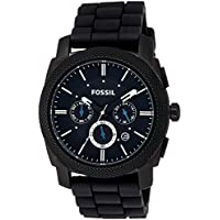 Fossil Machine Chronograph Black Dial Men's Watch - FS4487