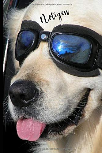 Notizen: Cooler Hund Notizbuch - Für meine Gedanken: Das besondere Einschreibbuch  Tagebuch -...