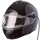 Best Modular Snowmobile Helmet - Ls2 Helmets Strobe Solid Modular Snow Helmet With Review