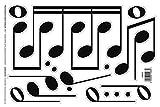 Chamberlain Musique wmn30Musique Symbole magnétique pour tableau blanc