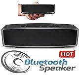 SR Global Hard Case Travel Carry Bag Mini Bluetooth Portable Wireless Speaker Model