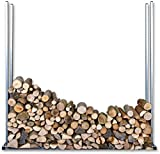 Figofix Holzstapelgestell-Set, Stapelhilfe, Regal, Brennholz, Massiv