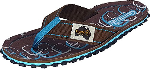 GUMBIES Flip Flops Damen, Spangle, Größe 42