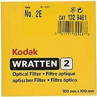 100 mm-Kodak-Wratten 2.0 Filtre optique-No.2e
