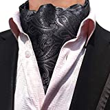 STTLZMC Herren Krawattenschal Ascotkrawatte Schal Fashion Gentleman Cravat Ties,color 18,One Size