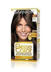 Garnier - Belle Color - Coloration permanente Châtain - 4.03 Marron ensoleillé naturel Lot de 2