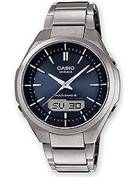 Casio Herren-Armbanduhr Wave Ceptor Analog Digital Quarz Titan LCW-M500TD-2AER