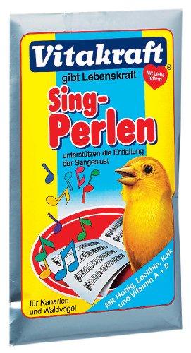 Vitakraft Vogel Sing-Perlen 20g Kanarien 25 XStk./Einheiten - 20 Einheiten