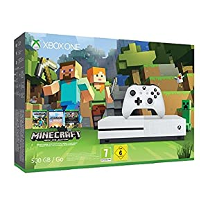 Xbox One S 500GB Konsole – Minecraft Bundle