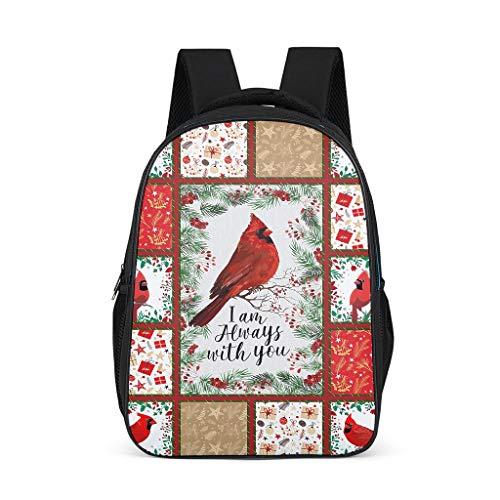 Años alegres Navidad Rojo pájaros Palmera Estrellas
