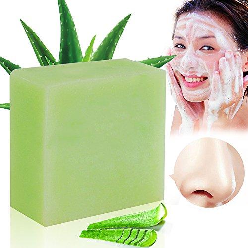 Aloe Vera Seife,Aloe Vera Soap,Verwendung als Gesicht Seife, LDreamAM® Körper Seife Verbessern die natürliche Festigkeit der Haut und halten die Haut hydratisiert. (Gesicht Festigkeit)