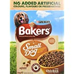 Bakers Complete Dog Food Small Dog Tender Meaty Chunks Tasty Chicken and Country Vegetables, 2.7 kg - Pack of 4 20