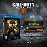 Call of Duty®: Black Ops 4 with 2 Hours of 2XP + an Exclusive Calling Card (Exclusive to Amazon.co.uk) (PS4)