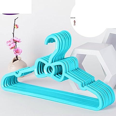 cintre en plastique/Papillon rembourré cintres/Accueil chambre dérapage coupe-vent adultes