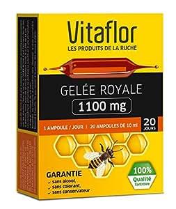 Vitaflor Gelée Royale 1100 mg 20 Ampoules