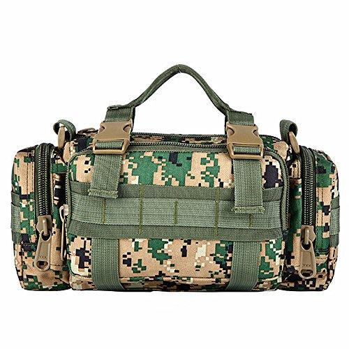 e-jiaen Handtasche Travel Bags, doppelseitig Tasche 20